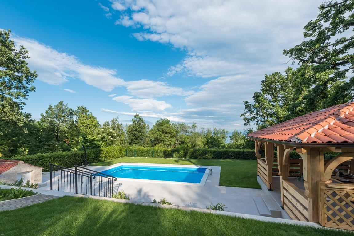 Kuća sa bazenom i prekrasnim pogledom na more