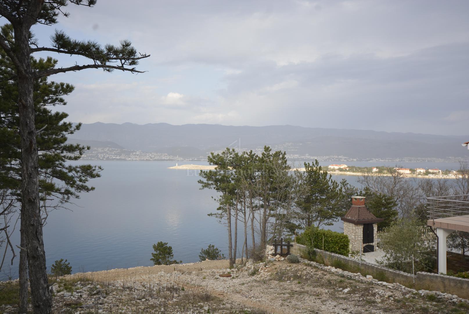 Novogradnja kuća u nizu sa prekrasnim pogledom na more