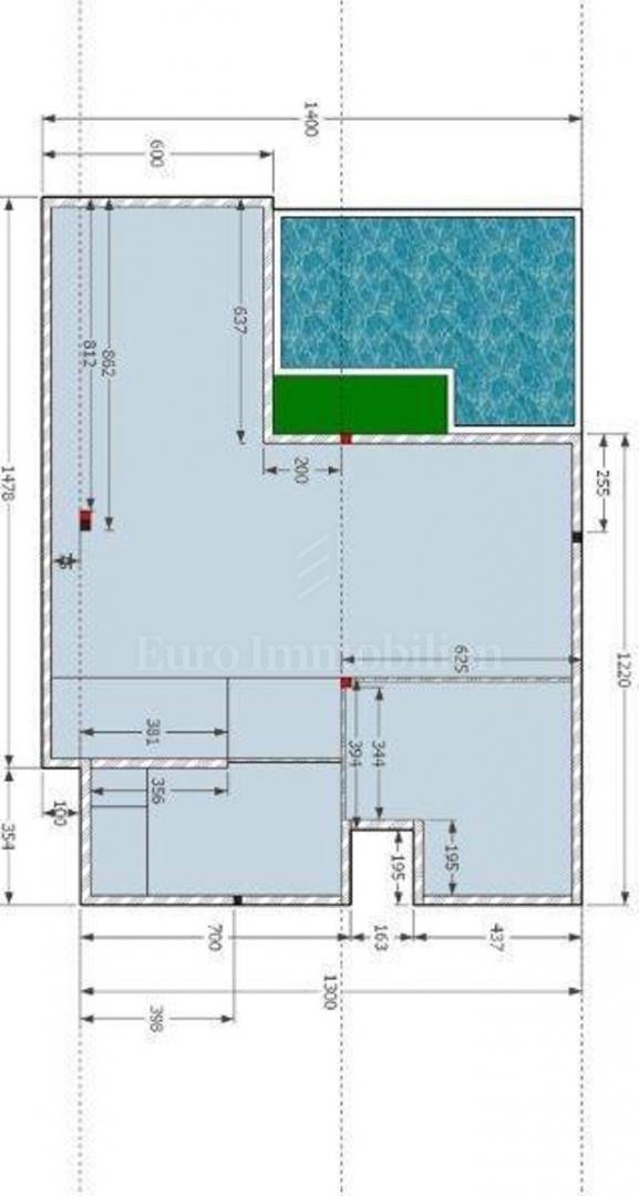 Crikvenica, luksuzna kuća s bazenom od 550 m2!