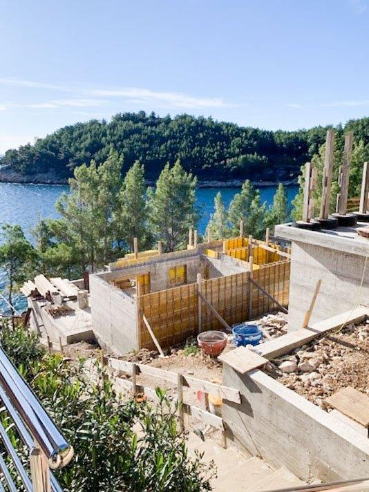 Atraktivna kuća u prvom redu do mora, otok Korčula