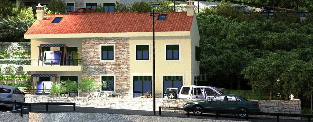Kastav Appartamento Su Due Piani Due Camere Da Letto Progetto In Costruzione Appartamento