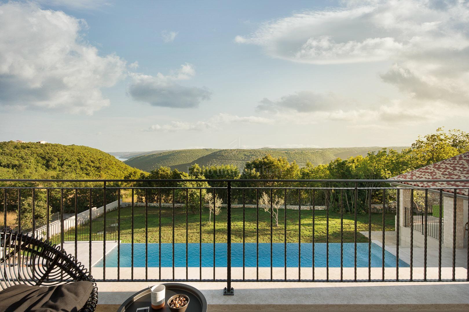 Vila s prekrasnim pogledom u blizini Labina