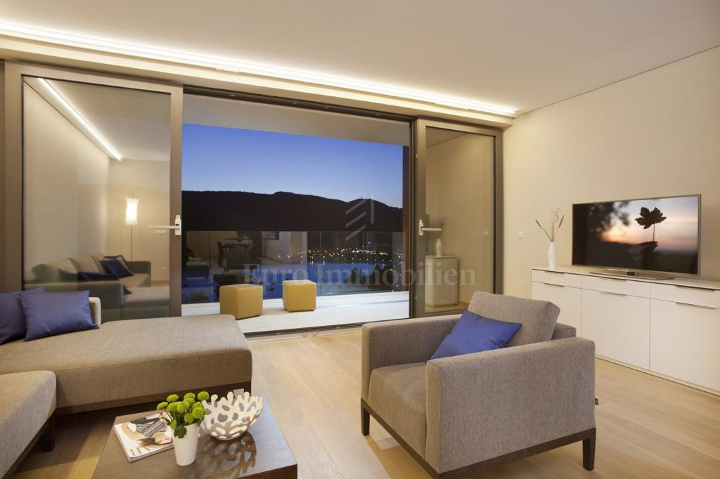 Modern apartment with open sea view