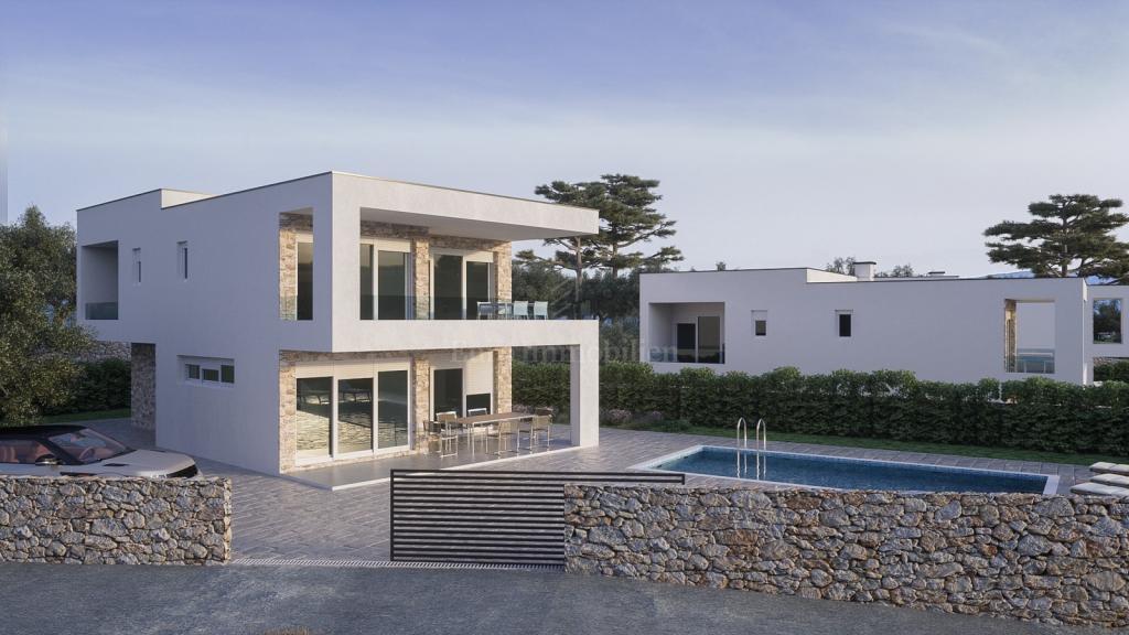 Moderna kuća čistih linija i profinjenog dizajna