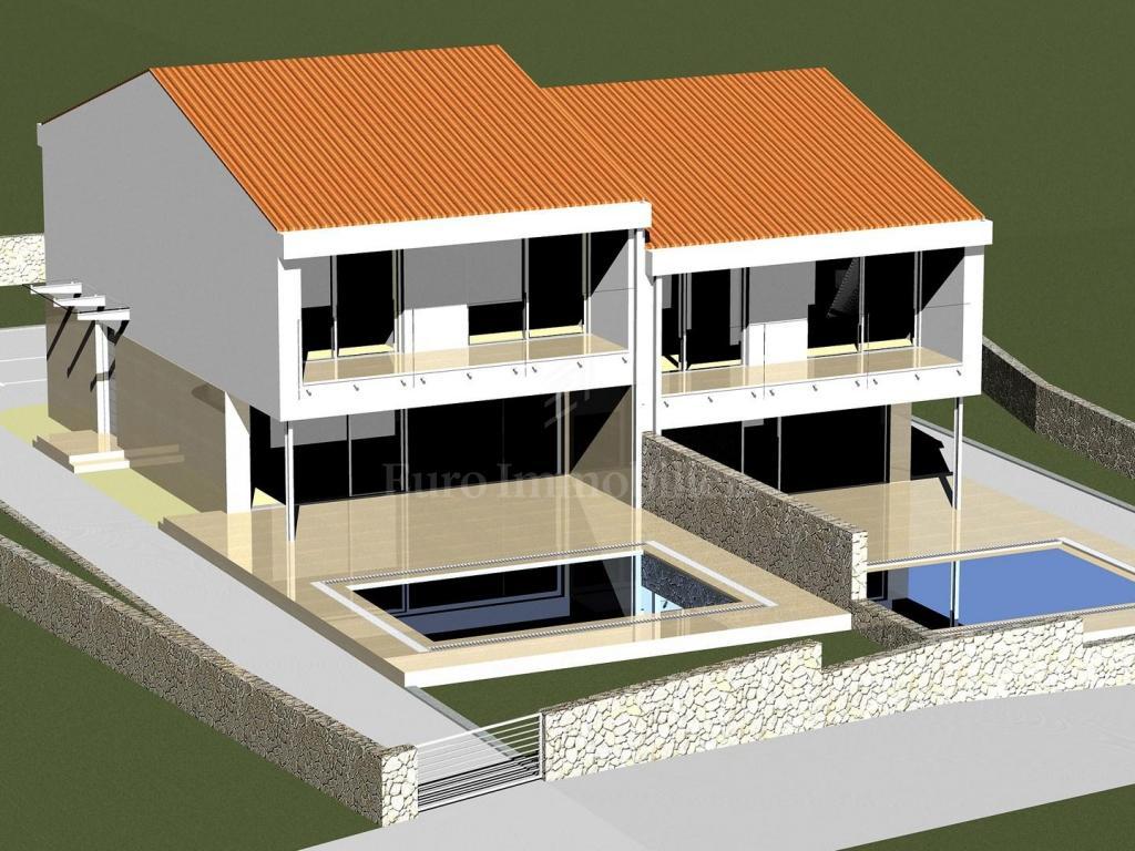 Zemljište sa građevinskom dozvolom i plaćenim doprinosima