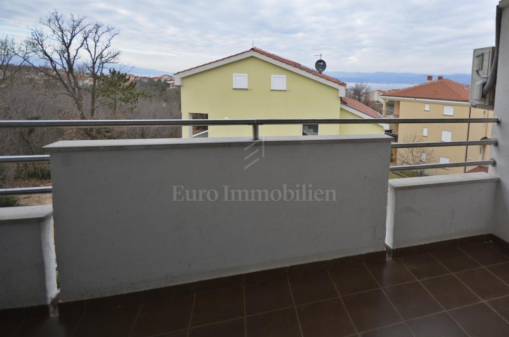 Namješteni apartman s pogledom na more