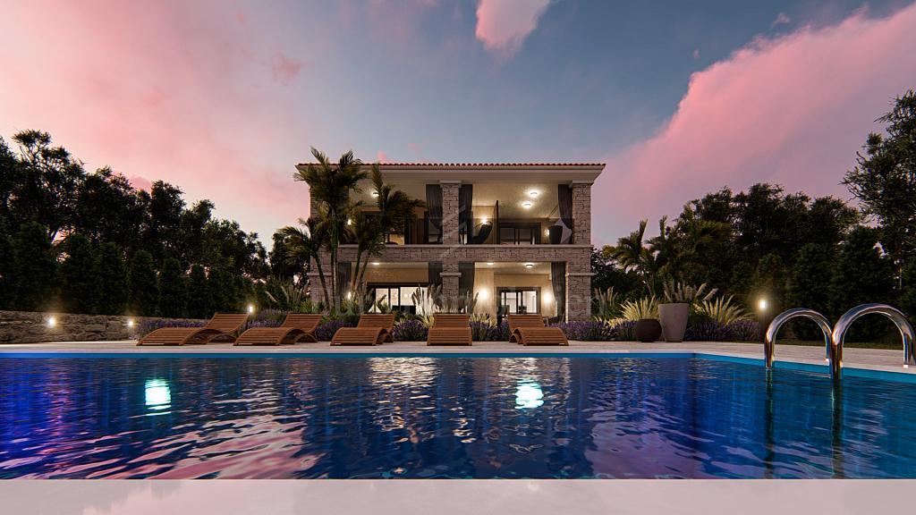 Belissima villa con vista mare