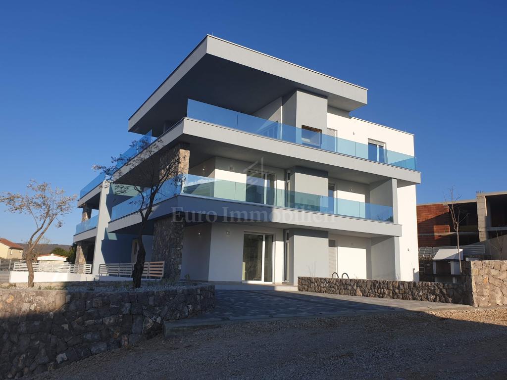 Moderne Wohnung in einem neuen Gebäude mit Pool und Meerblick