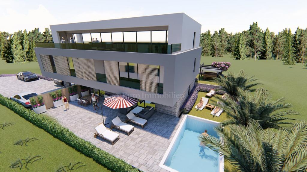 Geräumige Erdgeschosswohnung mit Pool, Garten und Garage!