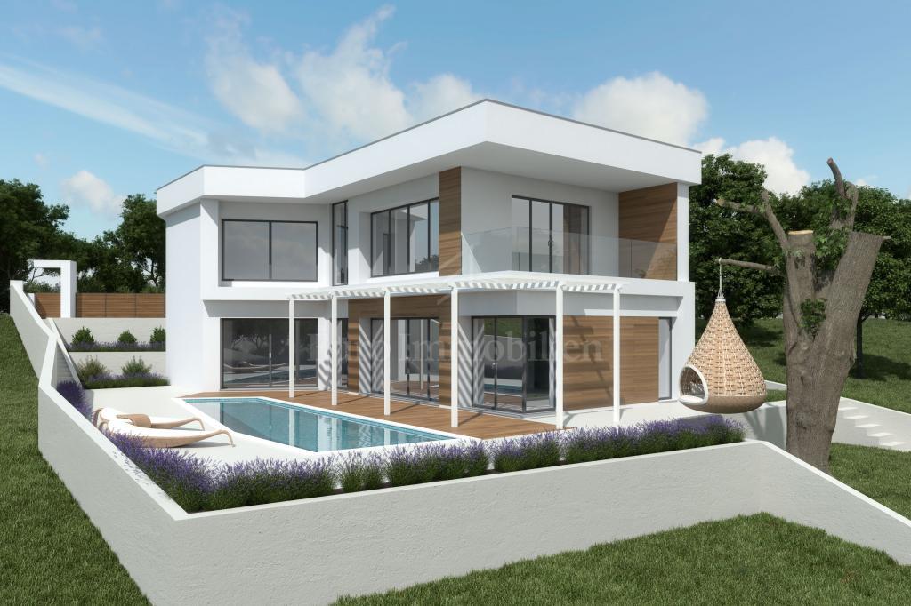 Moderne Villa mit Pool! Großartige Investition!