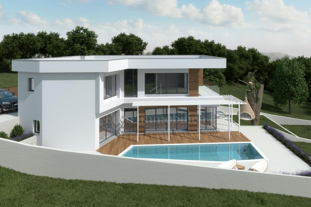 Modern villa with pool! Great investment!
