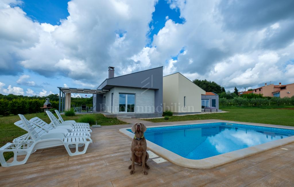 Suvremena kuća s bazenom na intimnoj lokaciji!