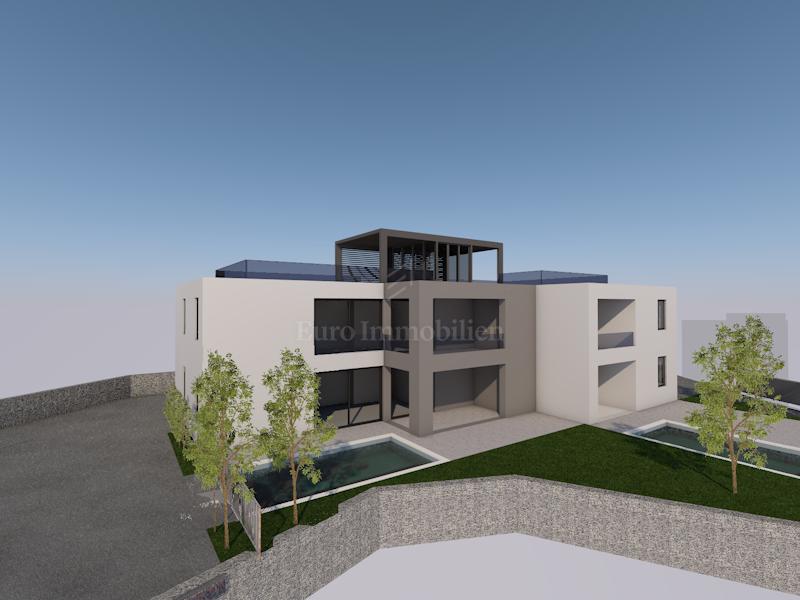 Novogradnja! Apartman na prvom katu s krovnom terasom!