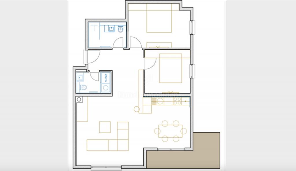 Opatija, dvosoban stan s dnevnim boravkom, 104 m2