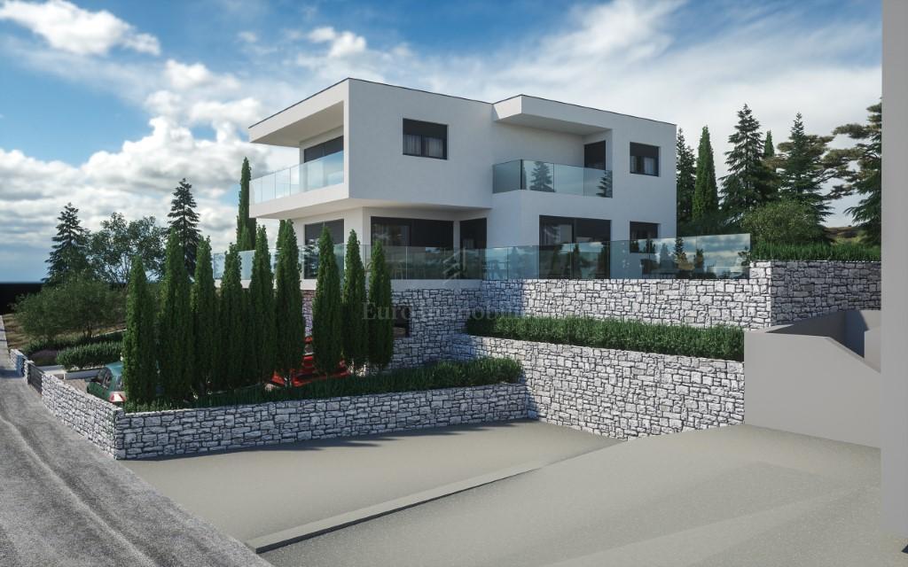 Vila u novogradnji, drugi red, okolica Rogoznice