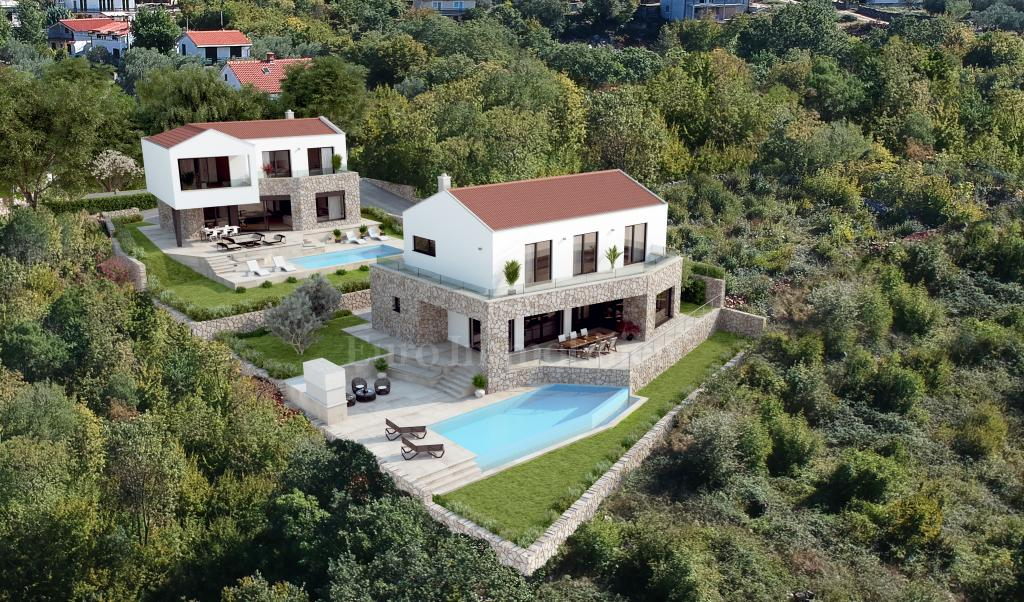 Villa with sea view in the beautiful area of Šotovento