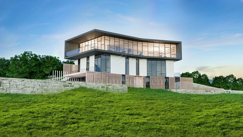 Zemljište s građevinskom dozvolom za luksuznu villu