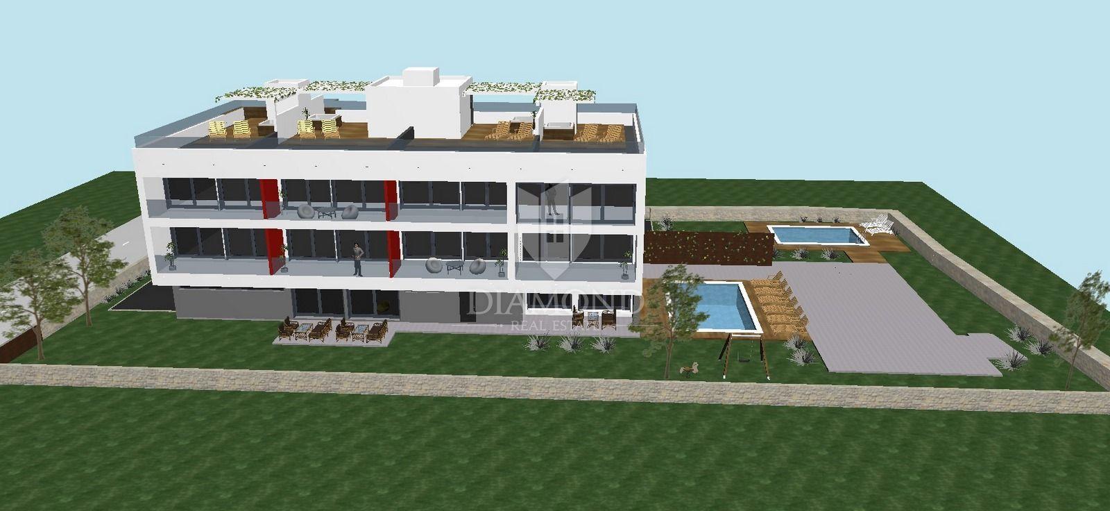 Appartamento A Due Piani Medulin Con Terrazza Sul Tetto