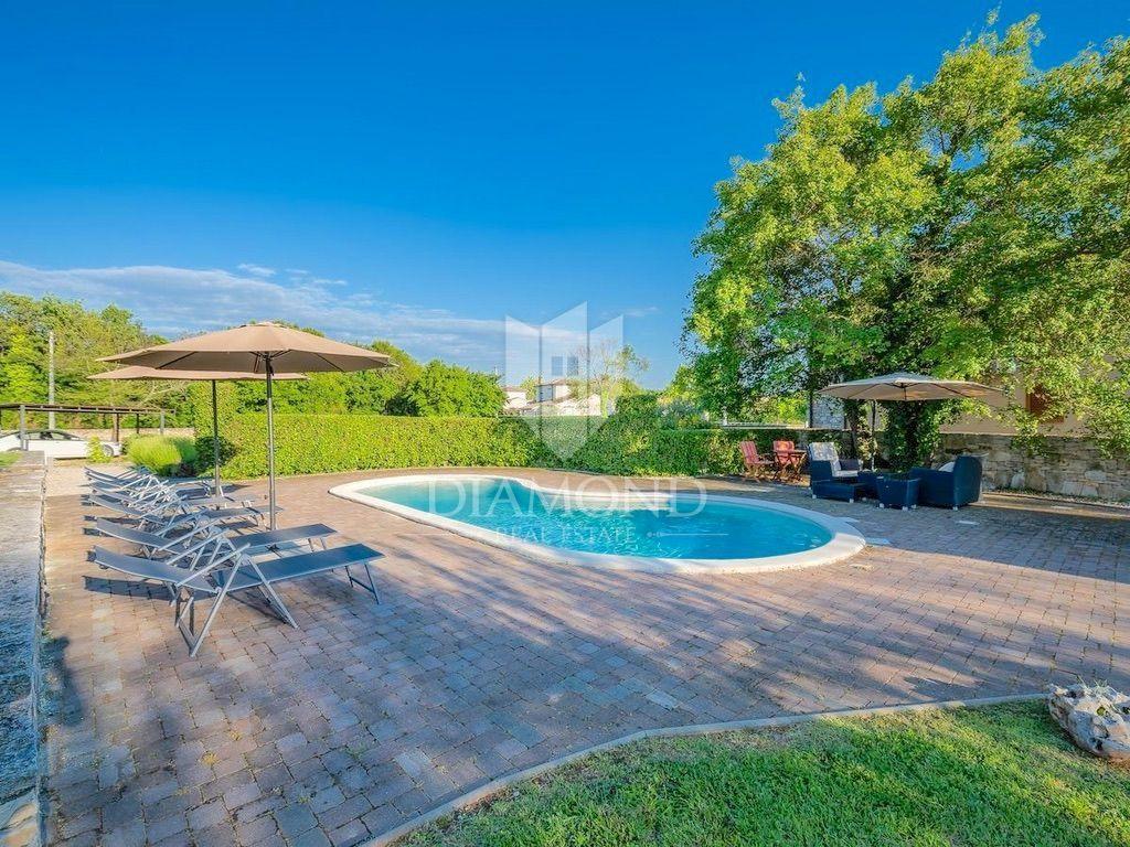 Centralna istra, Tinjan, Okolica Kuća za odmor s bazenom