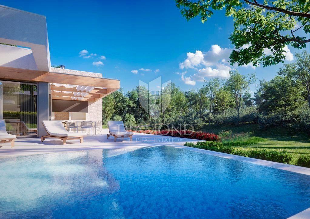 Poreč okolica, kuća za odmor s bazenom
