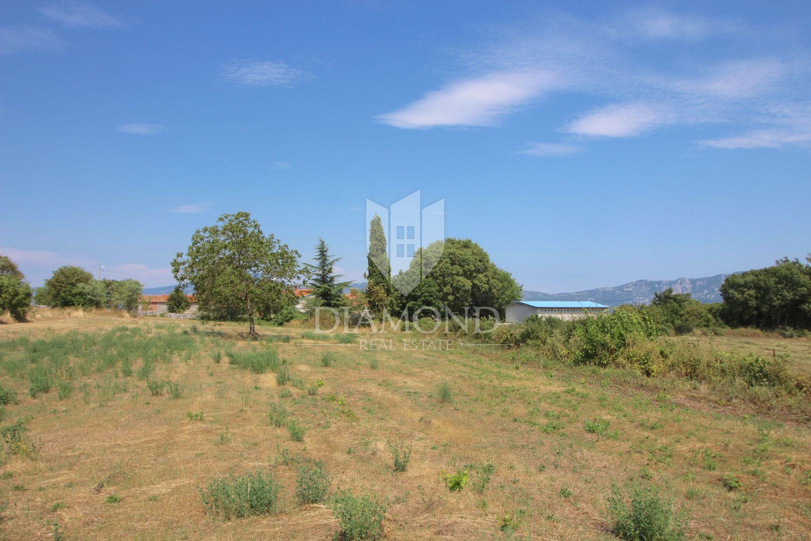 Istra, Labin, građevinsko zemljište s lijepim pogledom