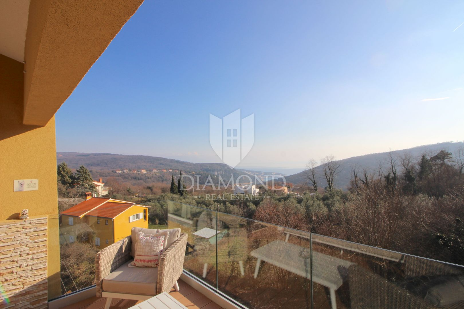 Labin, penthouse s pogledom na more i Rabac