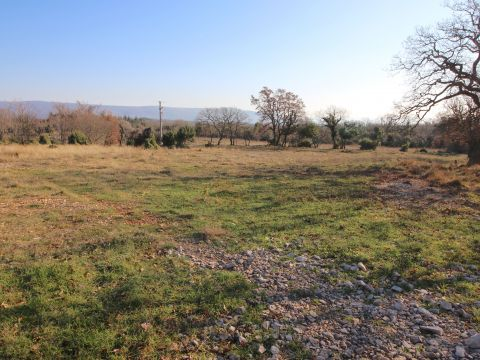Marčana, okolica, građevinsko zemljište sa građevinskom dozvolom
