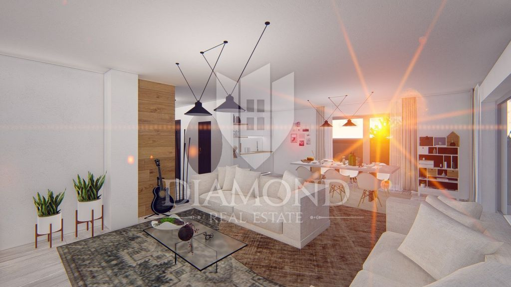 Luxuswohnung in Novigrad mit Meerblick