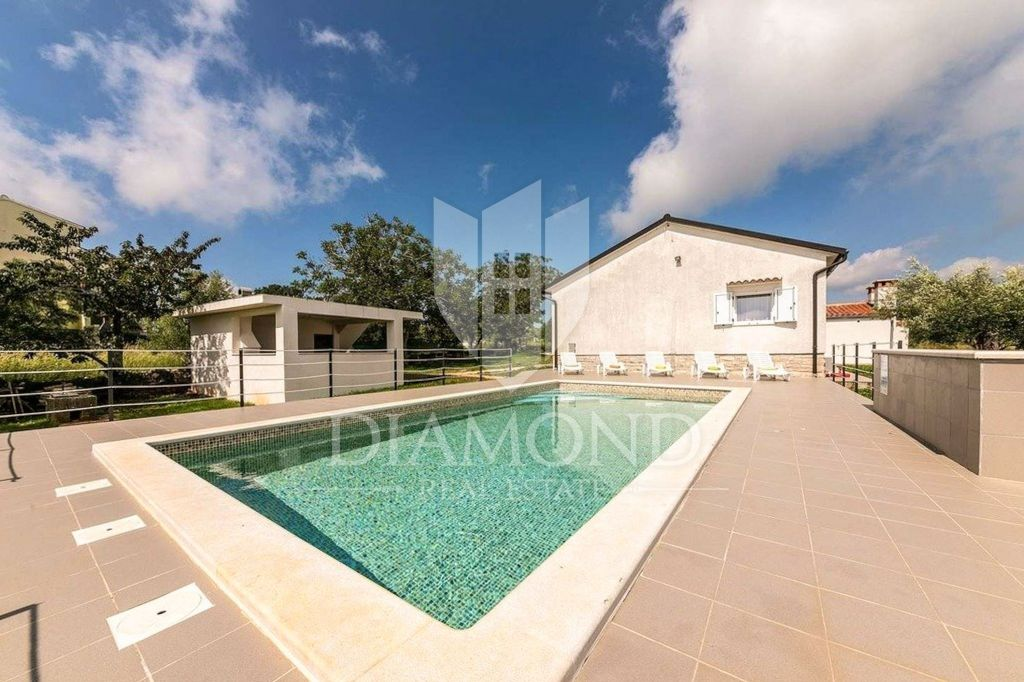 Marcana, surroundings, Ground floor with pool and sea view