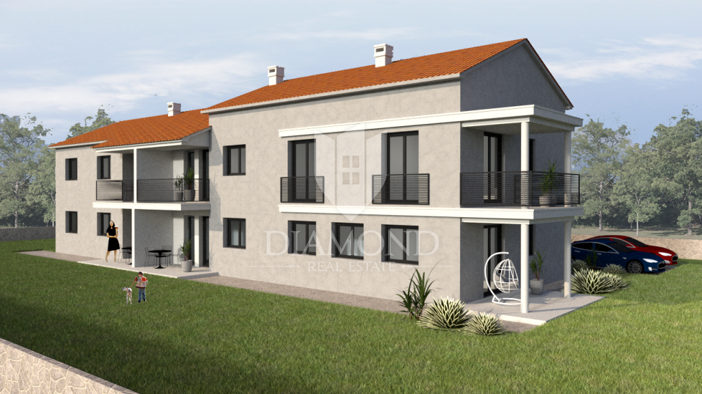 Poreč, two bedroom apartment near the town