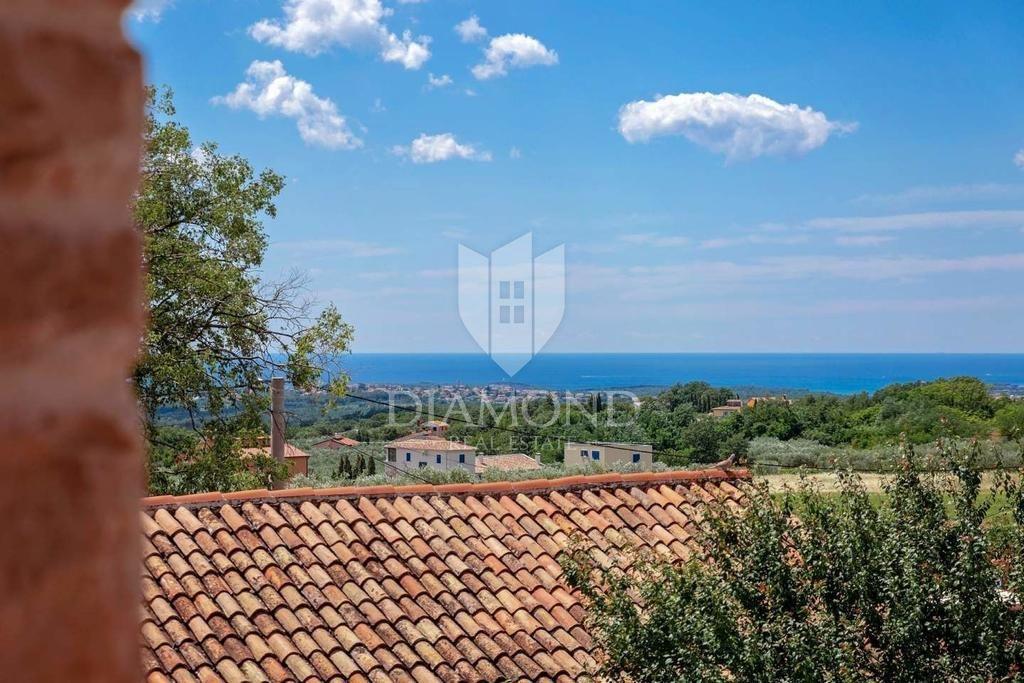 Parenzo, casa con vista panoramica sul mare