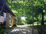 Poreč,autohtona istarska kuća sa prostranom okućnicom