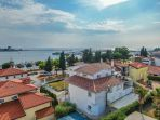 Villa in the center of Umag 1st row to the sea
