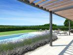 Poreč, Umgebung, neue Luxusvilla inmitten der Natur