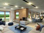 Parenzo, dintorni, nuova villa di lusso immersa nella natura