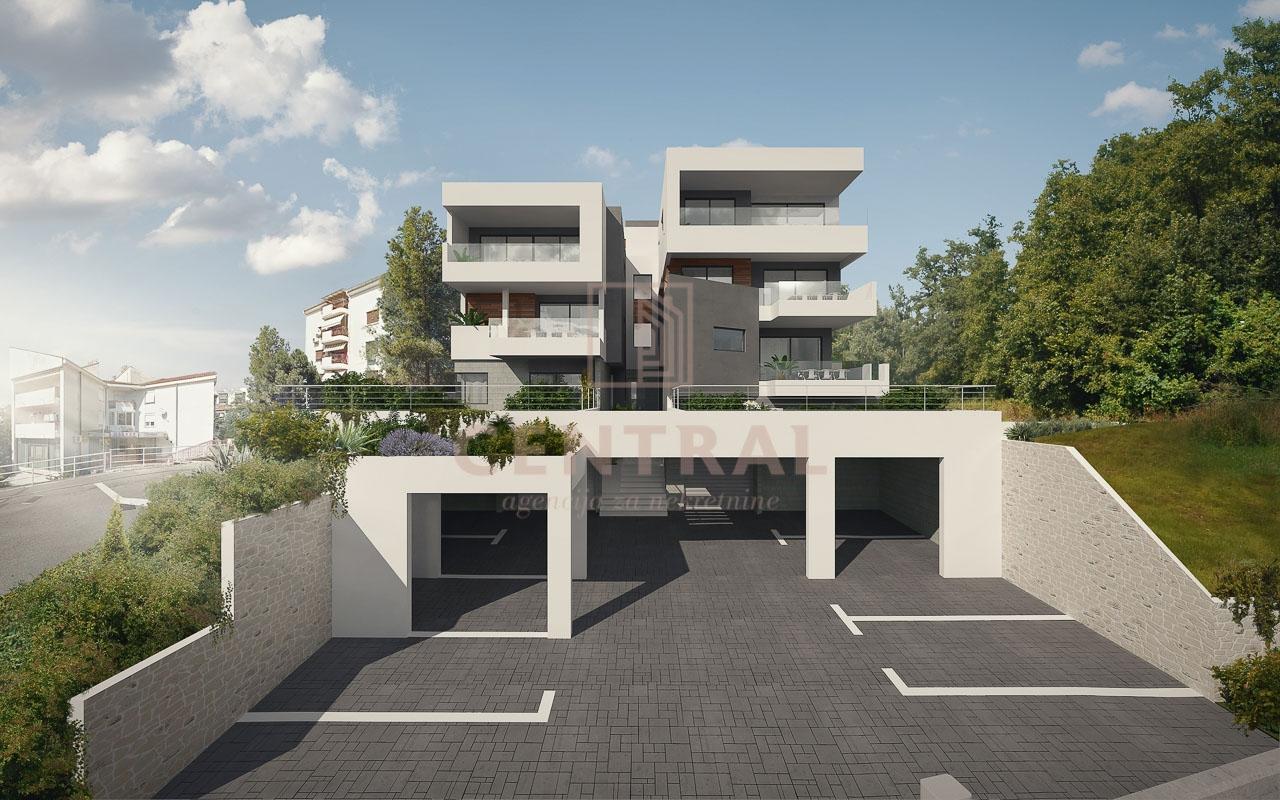 Marčeljeva Draga novogradnja, penthouse 3S+DB