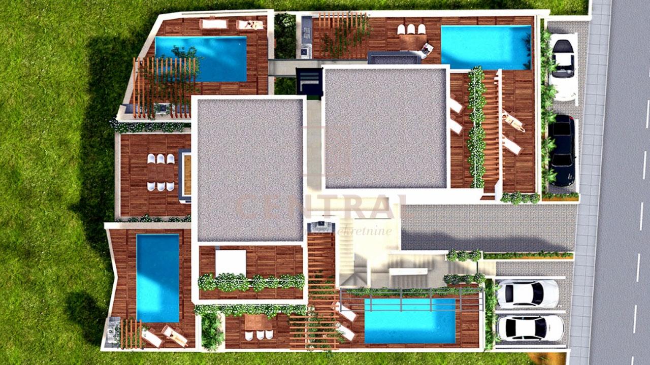 Crikvenica, dvosoban stan s vlastitim bazenom!