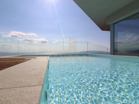 Opatija, penthouse s bazenom 4S+DB, 227 m2