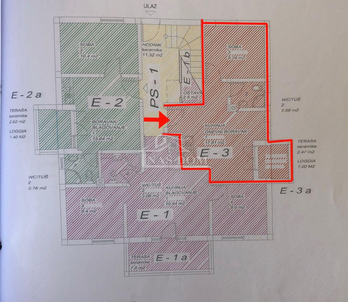 Srima- jednosoban apartman u prizemlju , 300 m do plaže
