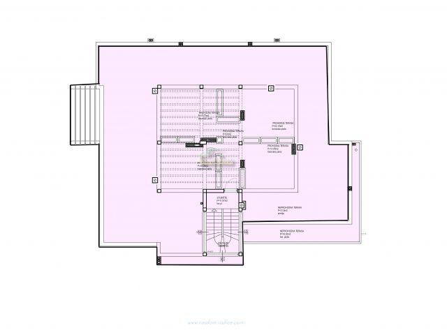Vodice- Stan S11 108,41m2 + krovna terasa, novogradnja