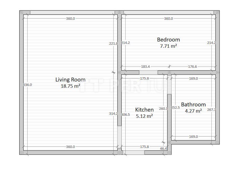 Stan, Utrina, 37,00 m2