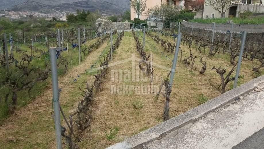 Građevinsko zemljište, Split,Kila 550 m2 za kuću-miran predio
