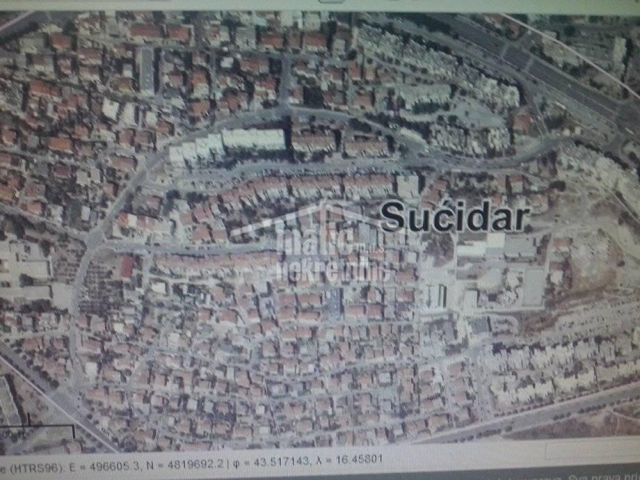 Građevinsko zemljište, Split, SUĆIDAR 288 m2 za hostel