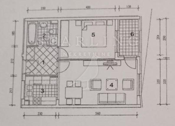 STAN, PRODAJA, ZAGREB, TREŠNJEVKA, 48 m2