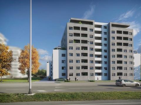 STAN, NOVOGRADNJA, PRODAJA, ZAGREB, ŠPANSKO, 43 m2, 2-soban