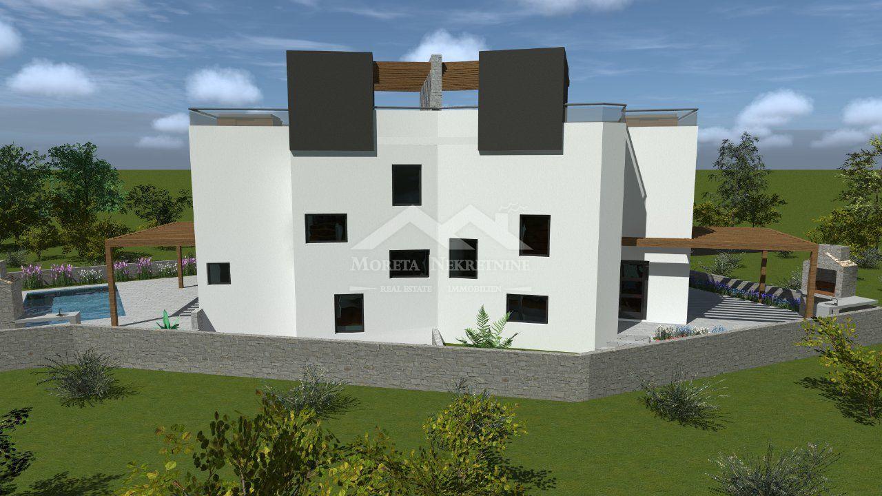 Srima, nova dvojna kuća s bazenom u blizini plaže