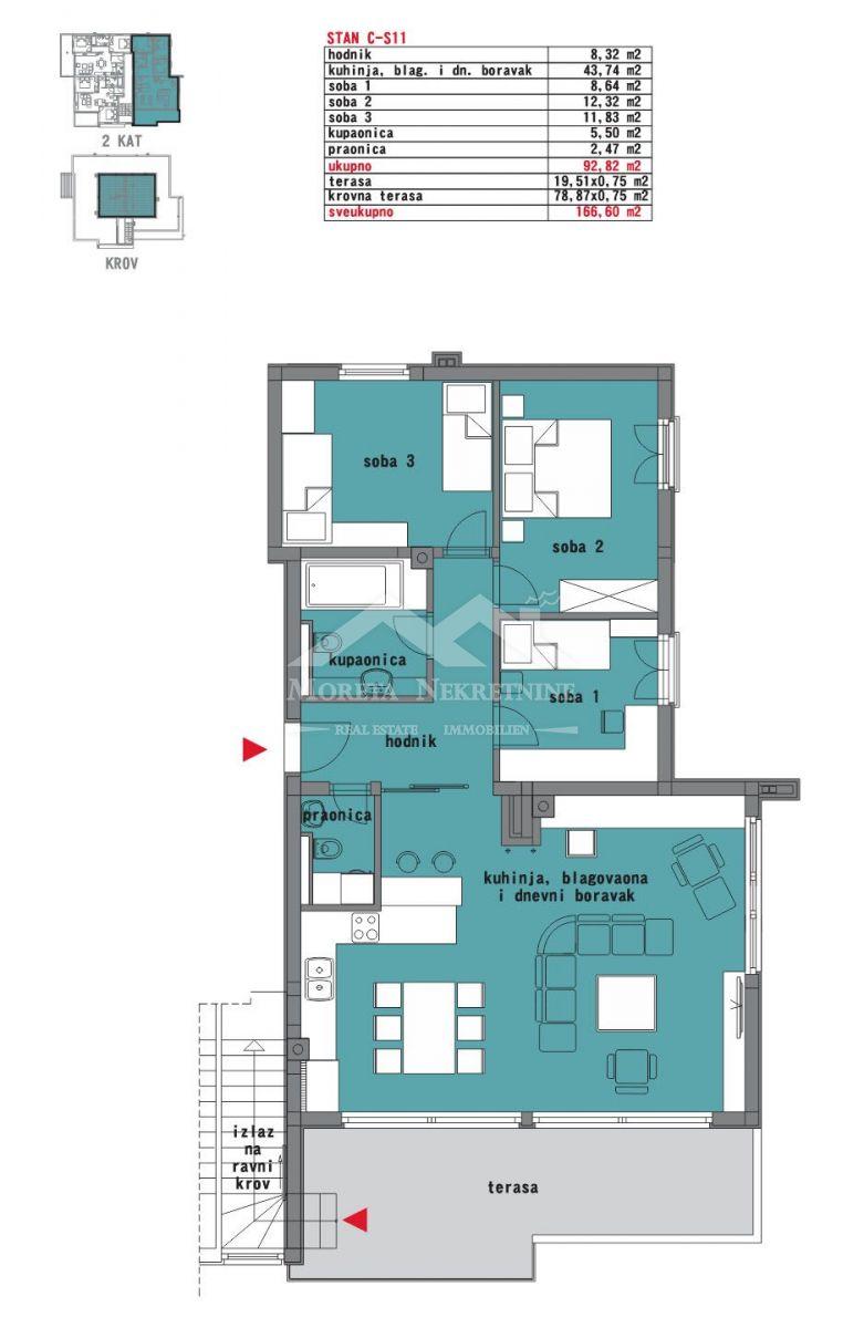 Vodice, ekskluzivna ponuda stanova u gradnji