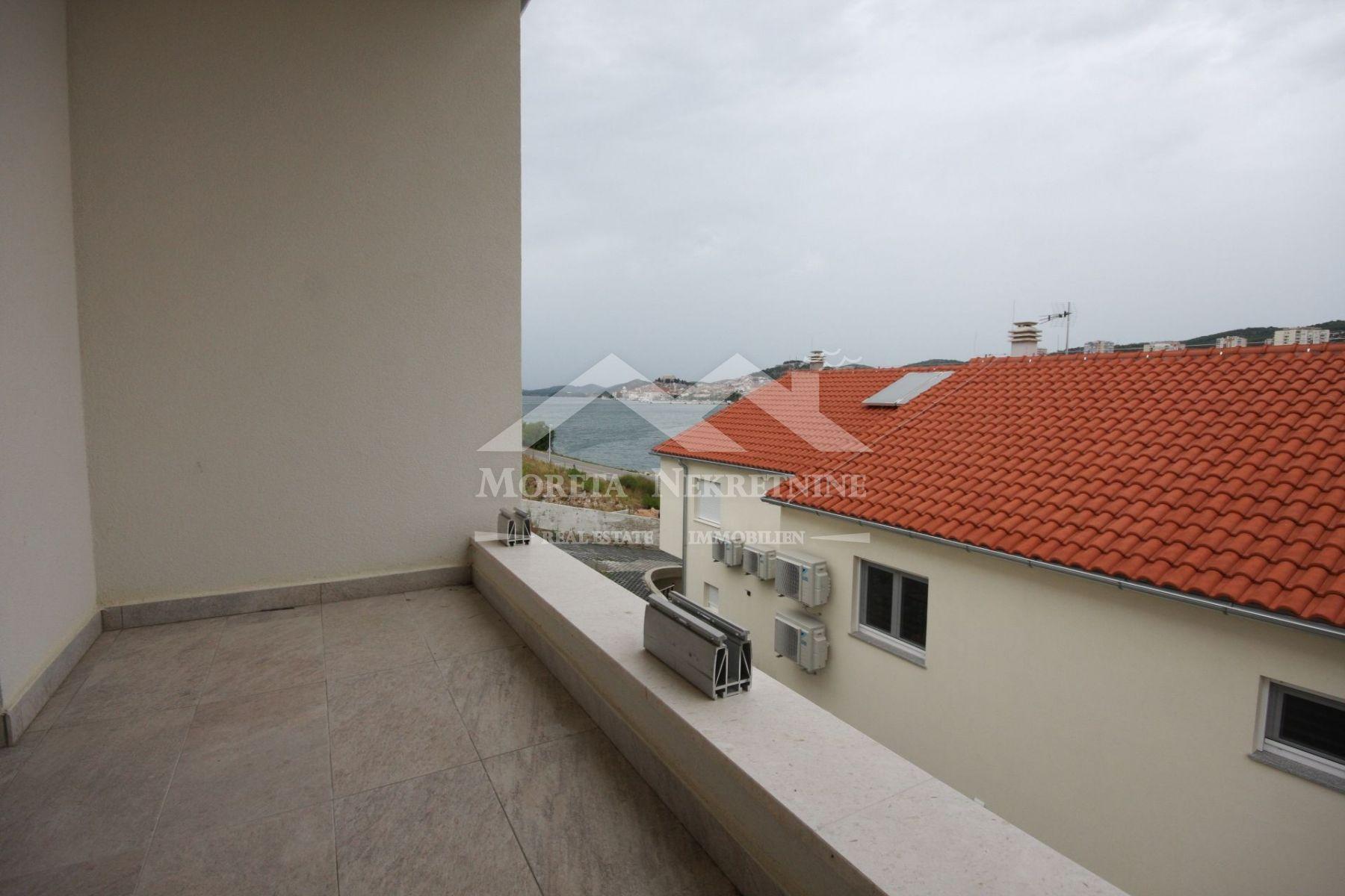 Sibenik, semi-detached house overlooking the sea