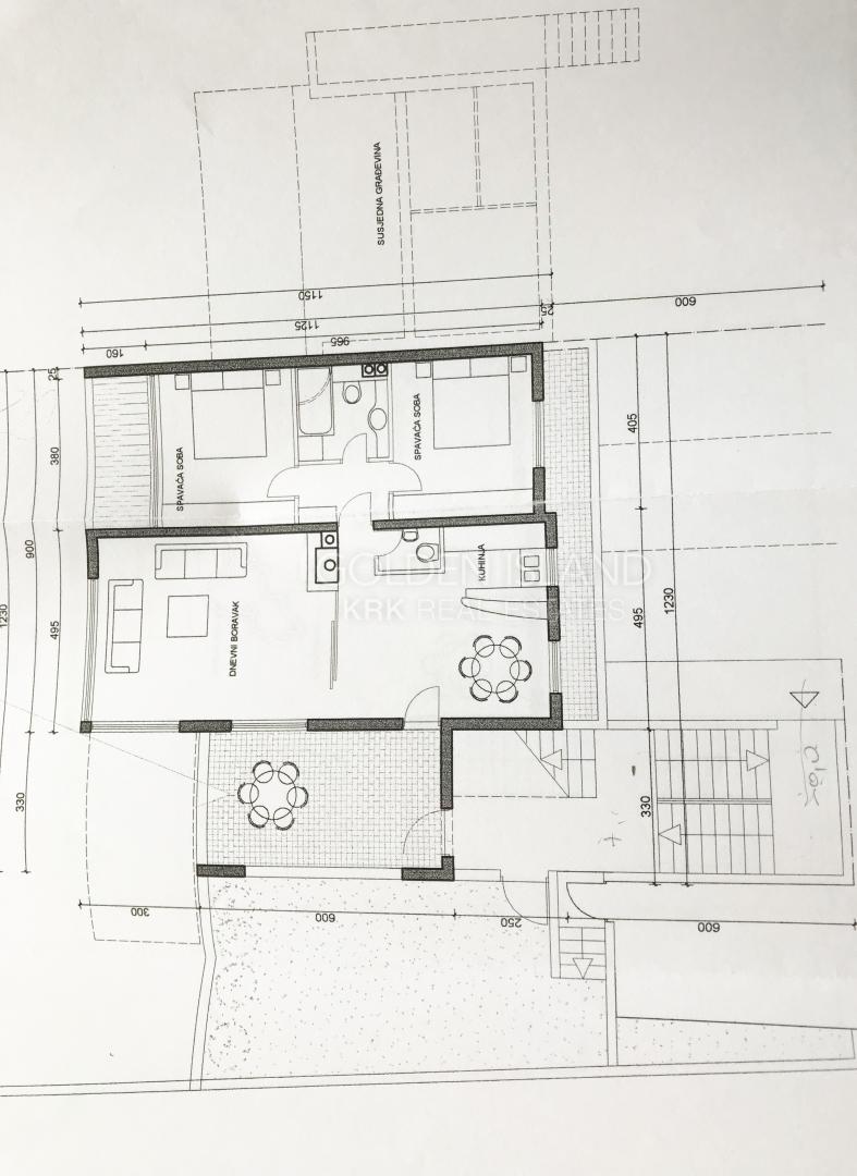NJIVICE započeta gradnja 3 stana!