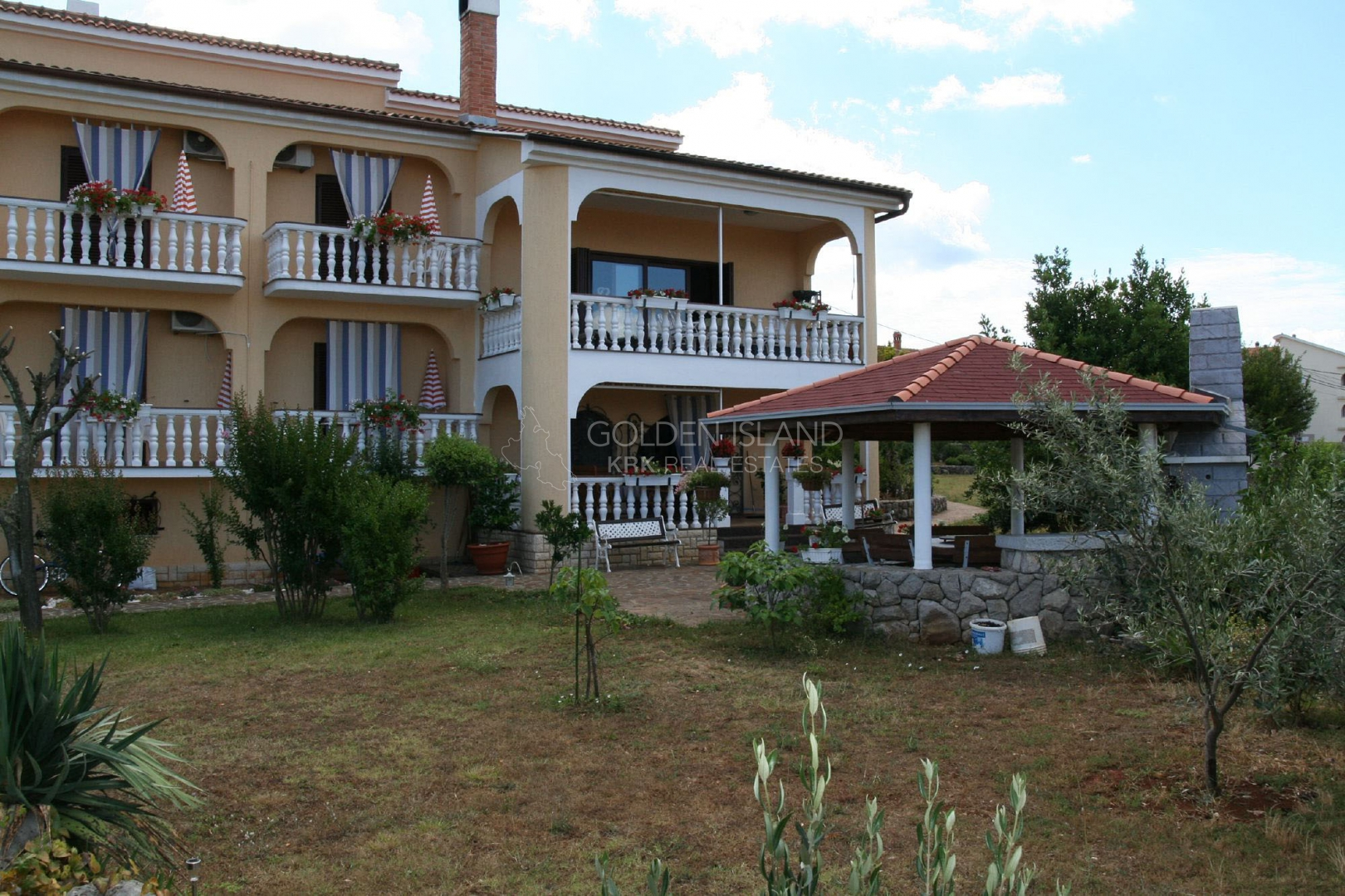 Otok KRK Obiteljska raskošna Villa